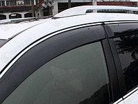 Дефлекторы окон Toyota RAV 4 2013 + с хромированным молдингом