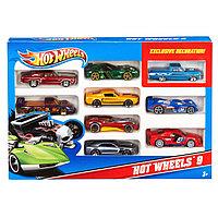 Набор 54886 Подарочный 10 машинок Hot wheels, фото 1