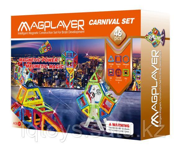 Магнитный конструктор Magplayer 46
