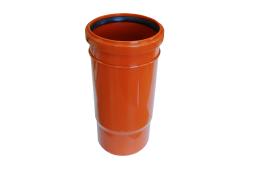 Патрубок компенсационный канализационный 110 оранжевый ПП