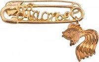 Булавочка на счастье (золотая рыбка)
