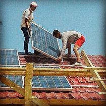 Автономная солнечная станция 2 кВт в п. Жанакорган, Кызылординская обл. 1