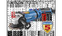 Углошлифов. машина (болгарка), ЗУБР Профессионал, плав. пуск, 125мм, 3000-9500 об/мин, 1400 Вт
