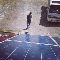 Автономная солнечная станция 2 кВт в п. Жанакорган, Кызылординская обл. 3