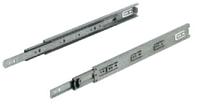 Шариковые направляющие для ящика 650мм сталь оцинк., нагр. 30 кг, фото 1
