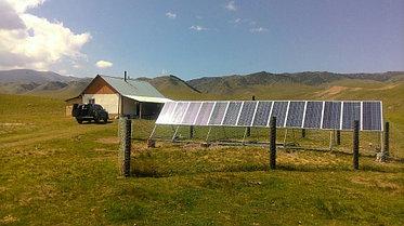Автономная солнечная станция на 2100 Вт, Алматинская обл. 2