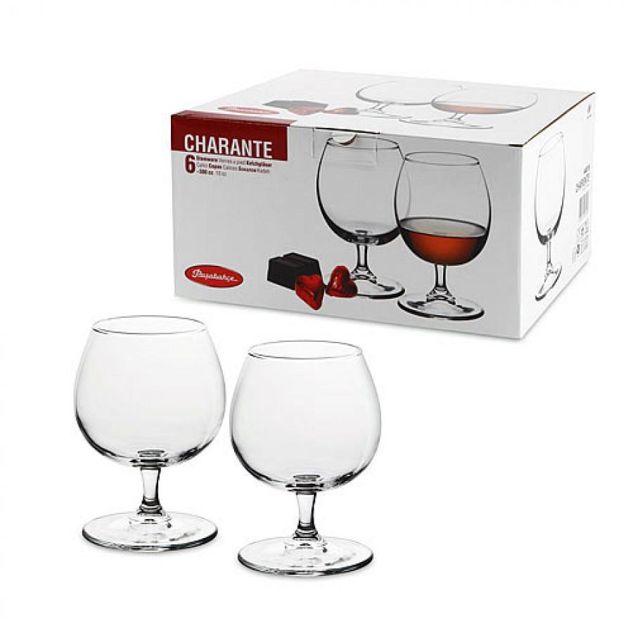 Набор бокалов Pasabahce  Charante для коньяка 6 шт (44816/6)