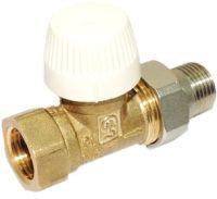 Клапан радиаторный регулирующий прямой dn 15 (терморегулятор на вход)