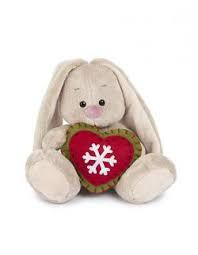 Зайка Ми с новогодним сердечком (малыш)