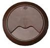 Кабельный проводник мебельный, пластик, 60 мм, коричневый
