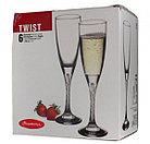 Набор бокалов Pasabahce Tvist для шампанского 6 шт (44307/6), фото 2