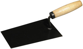 """Кельма STAYER """"PROFI"""", """"трапеция"""", нержавеющее полотно, деревянная рукоятка, 140мм"""