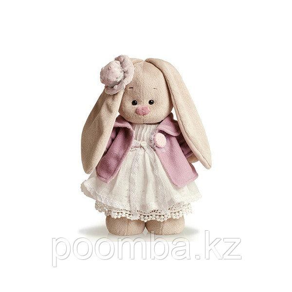 Зайка Ми в фиолетовом пальто и белом платье (большой)