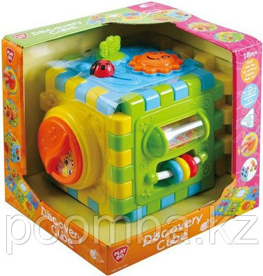 Развивающая игрушка PlayGo Куб-конструктор