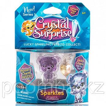 Crystal Surprise-фигурка Медвежонок+подвески(в ассортименте)