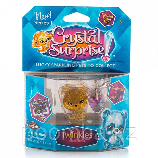 Crystal Surprise-фигурка Панда+подвески(в ассортименте)