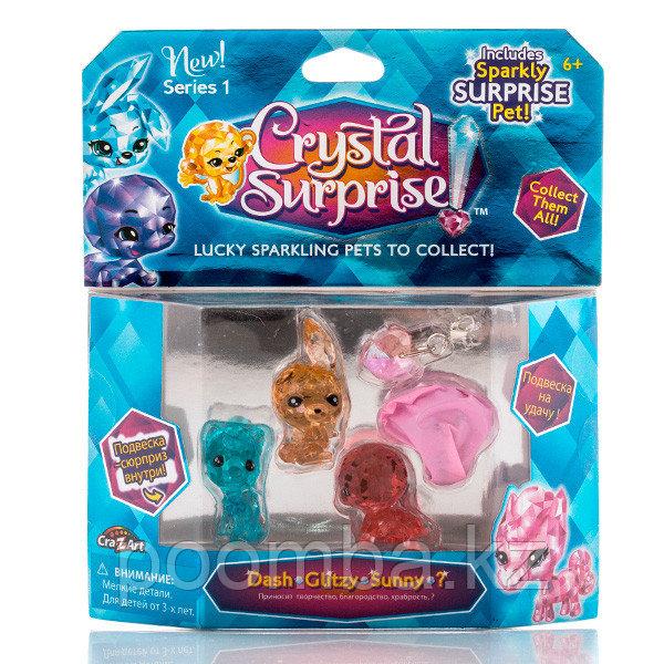 Crystal Surprise-игровой набор 2- фигурки 4 шт в в ассортименте / Кристал Сюприз