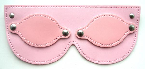 МАСКА НА ГЛАЗА цвет розовый, (PVC)