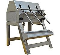Разливочная машина из нержавеющей стали на 3 насадки