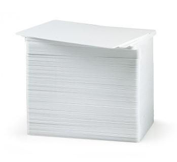 Пластиковые карты PVC, белые, под печать на принтрах