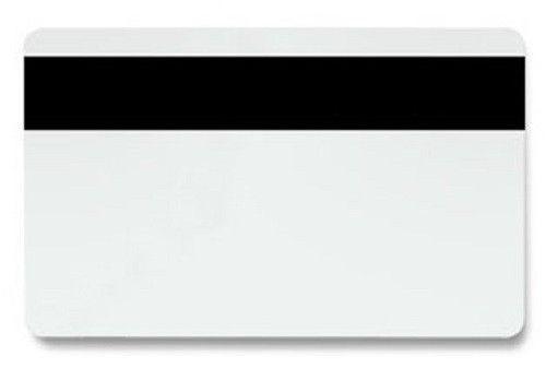 Карты белые PVC с магнитной полосой HiCo