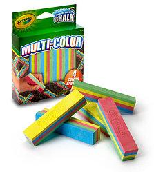 Crayola Мел для асфальта многоцветный, 5 цв
