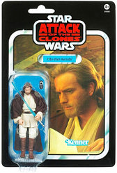 "Hasbro Star Wars ""Звездные войны: Атака клонов"" Винтажная фигурка Джедай Оби-Ван Кеноби"