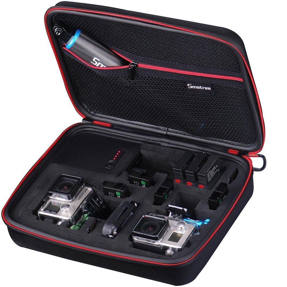 Smatree® переносное зарядное устройство-сумка для GoPro HERO 4/3+/3