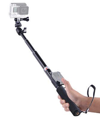 Монопод компактный Smatree® SmaPole Q2 25-95см с креплением для пульта GoPro