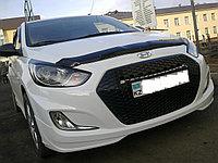 Альтернативная решетка на Hyundai Accent