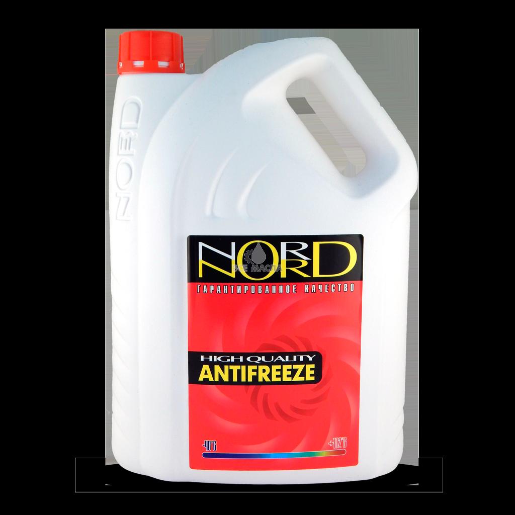 Антифриз NORD G-12 красный 10л.
