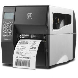 Zebra принтер этикеток термотрансферный ZT230; 203 dpi, Euro and UK cord, Serial, USB