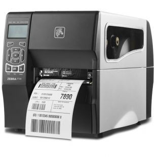 Zebra ZT23042-T0E000FZ принтер этикеток термотрансферный ZT230; 203 dpi, Euro and UK cord, Serial, USB