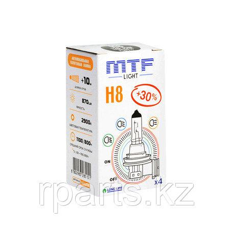 Галогеновые лампы MTF Light H8