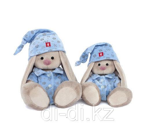 """Мягкая игрушка """"Зайка Ми"""" в голубой пижаме, малая"""