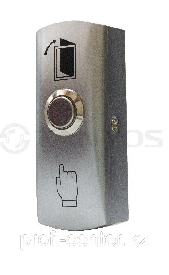 TS-CLICK Кнопка выхода накладная, металлическая НО, коммутируемый ток - 3А, 83х32х25мм