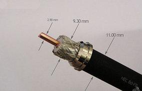 Высокочастотный кабель 7D-FB для репитера сотового сигнала