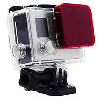 SJCAM® Цветокорректирующий-подводный красный фильтр для SJ4000/SJ5000, фото 1