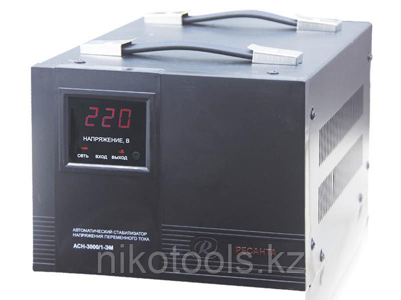 Стабилизатор напряжения электромеханический Ресанта АСН-3000/1-ЭМ в Караганде