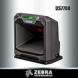 Zebra настольный сканер штрих-кода DS7708 MIDNIGHT BLACK, CHECKPOINT EAS, SERIAL KIT, фото 2