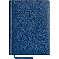 Ежедневник недатированный А6 160л., балакрон синий