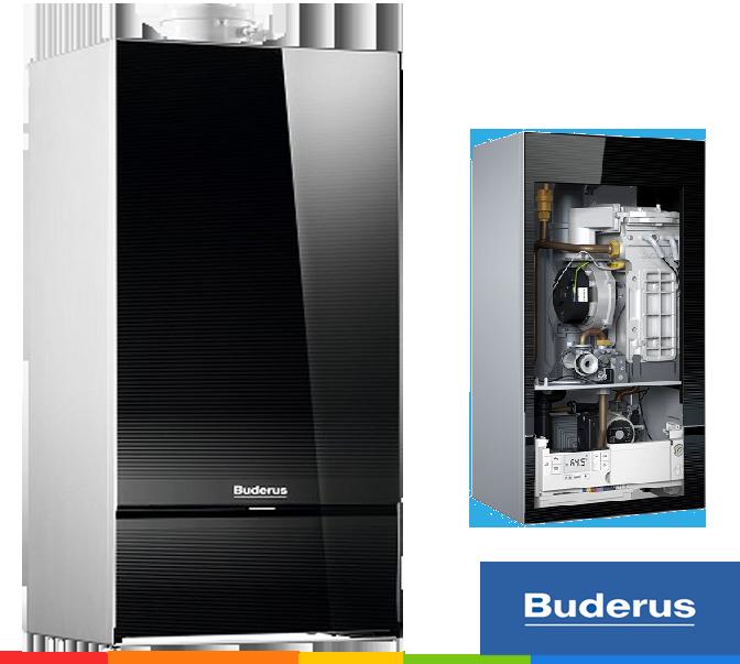 Конденсационный котел Buderus Logamax plus GB172-30 iK (черный)