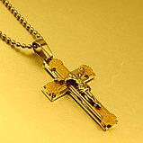 """Кулон-крестик  """"Крест"""", фото 2"""