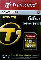 Transcend TS64GSDU3X ULTIMATE карта памяти 4k