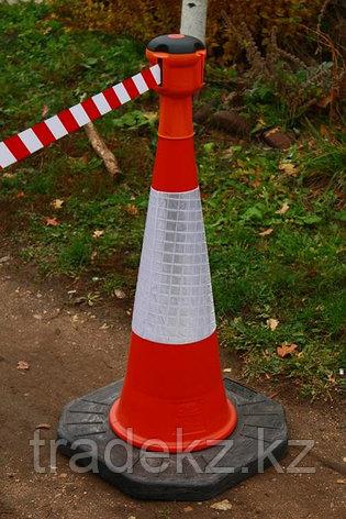 Дорожный конус с утяжелителем для блока с вытяжной лентой Skipper ™, фото 2