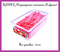 "Мармелад ""Подсахаренные пластинки Клубника""  (2,1кг. = 1уп.)"