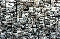 Сайдинг металлический  дикий камень