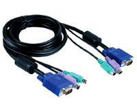 Кабель KVM для устройств DKVM-IP1/IP8 D-Link DKVM-IPCB , длина 1,8м /