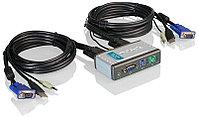 Порт переключатель KVM с audio / D-Link KVM-121 2-