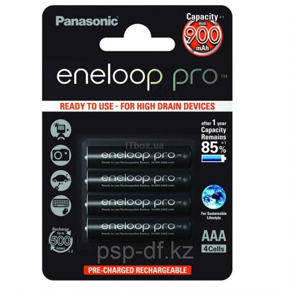 Аккумуляторы AAA Panasonic Eneloop Pro 930 mah BK-4HCCE 4шт
